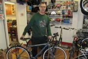 Local bike shop helps cyclist get into gear for Ride to the Rugby